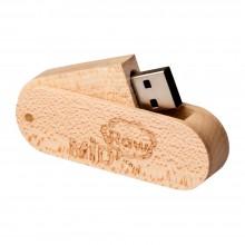 Флешка деревянная Rawmid