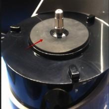 Резиновая накладка для защиты мотора соковыжималки RAWMID Juicer Dream vitamin JDM-80