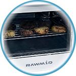 Аэрофритюрница Rawmid RMA-12 с прозрачной дверцей