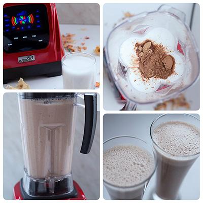 Ореховое молоко в мощном блендере Rawmid Dream Modern 2 BDM-06