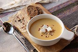 Крем суп и суп пюре в юсб блендере Rawmid Portable