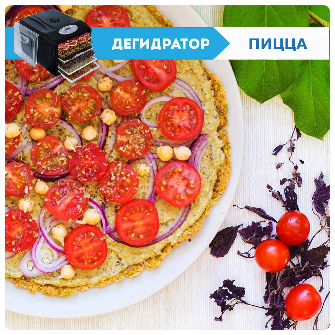 Пицца в дегидраторе Dream Vitamin купить сушилку