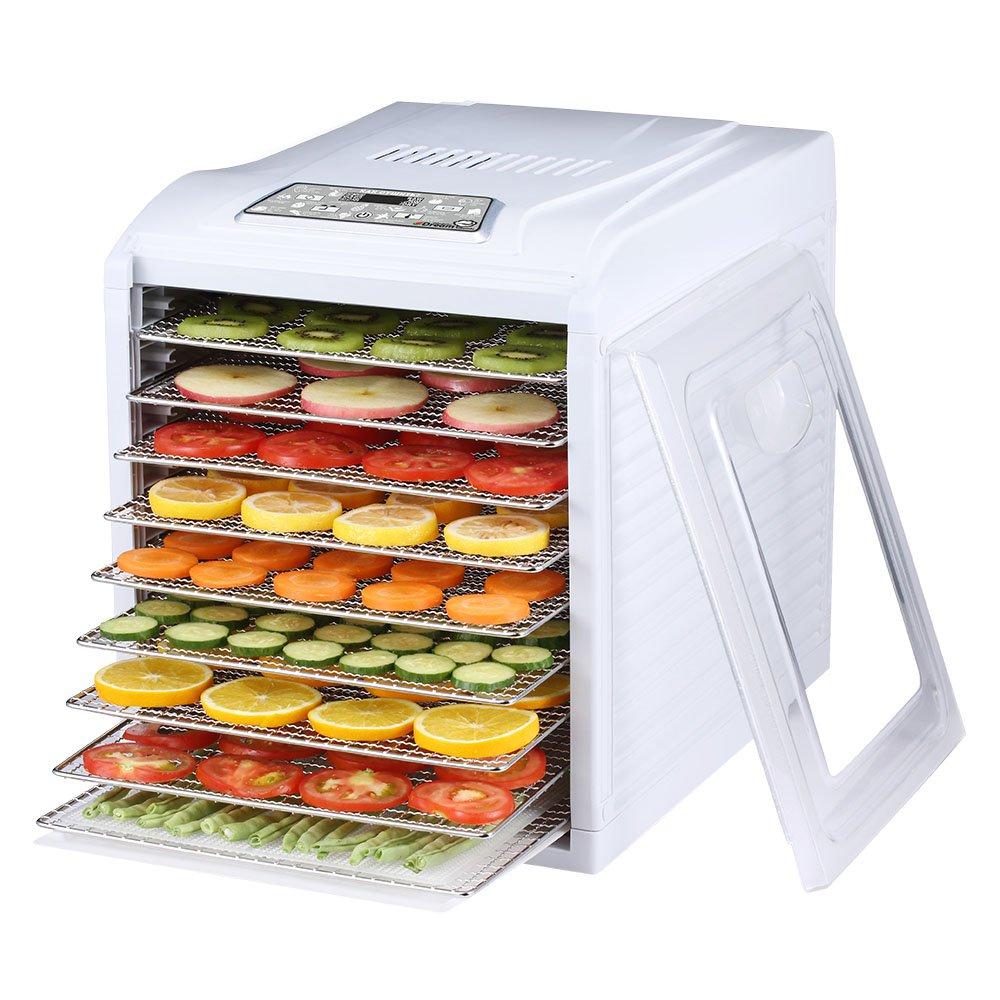 Дегидратор Deram Vitamin DDV-10 купить домашнюю сушилку для овощей и фруктов