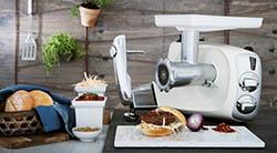 Кухонный комбайн Ankarsrum с функцией рубки продуктов