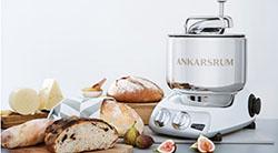 Кухонный комбайн Ankarsrum с функцией замешивания теста