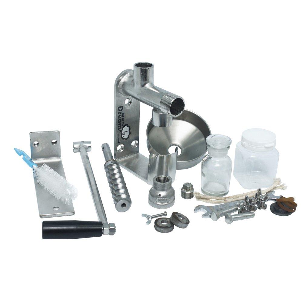 Комплектация ручного маслопресса RawMID Dram ODM-02