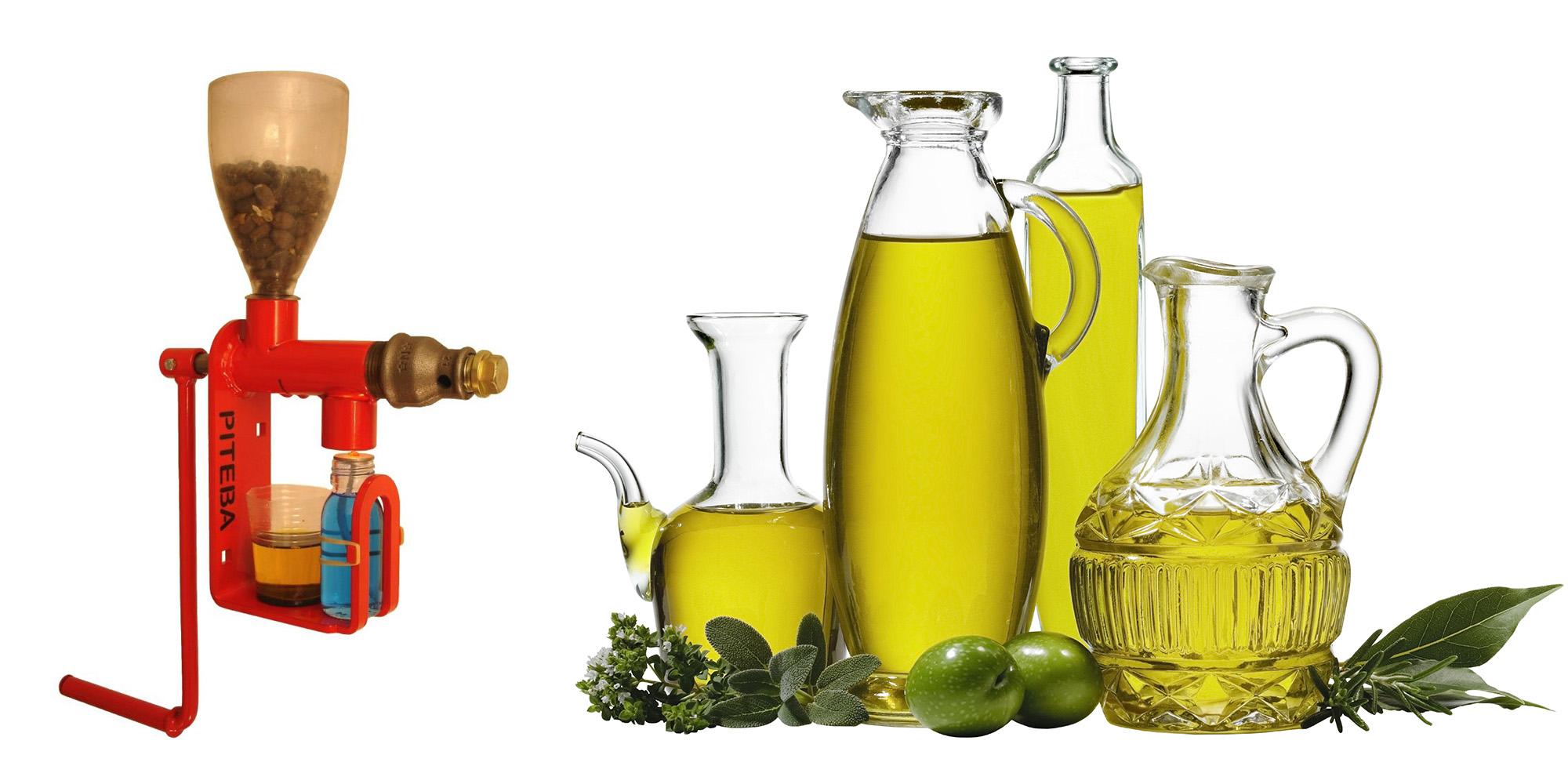 Маслодавка пресс для масла отжим продуктов маслопресс Piteba ручной шнековый