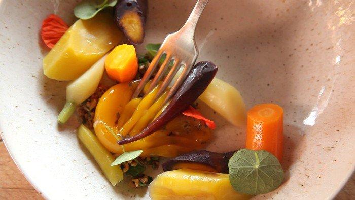 Овощи по методу сувид с помощью термостата сувид dream modern